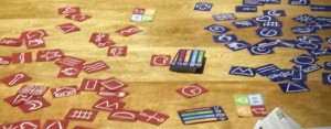 Pictionary Card Game spread